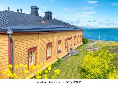 Home along the ocean, Baltic Region, Europe.