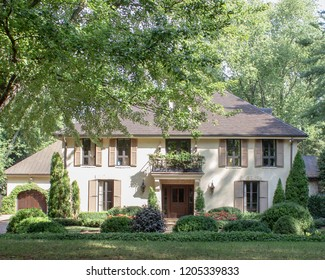 Home Architecture, exterior house photography, beautiful home in North Carolina