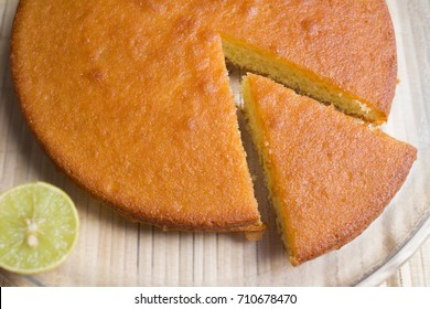 Home Baked Lemon Cake