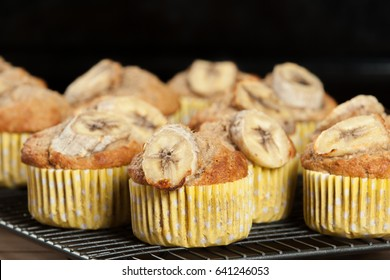 Home Baked Whole Wheat Banana And Oats Muffins