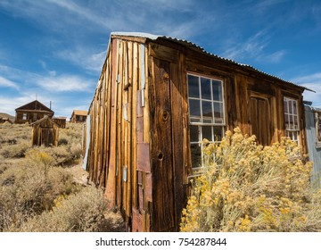 Home in Bodie State Park, A ghost town that was a wild west mining town.
