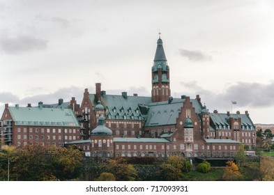 Home for the care of the elderly and mentally ill in Nacka, Stockholm, Sweden