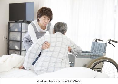 Home care, helper to help move