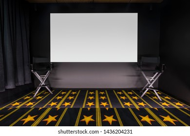 Home cinema with star carpet