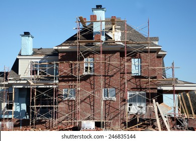 Home construction-brick work