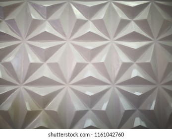 Home decoration concept and abstract background made with rough tile. Closeup view of white rough tile. Tile texture and background for wall design. Texture of rough tile and copy space.