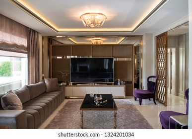 Home decoration interior design luxury