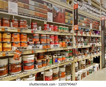 Do it yourself images stock photos vectors shutterstock home depot retail store paints and stains department danvers massachusetts usa may 5 solutioingenieria Gallery