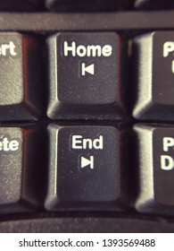home and end bottons on keyboard