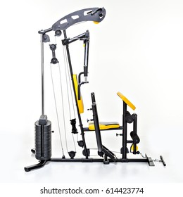 A home exercise machine.