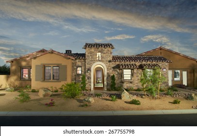 Home Exterior House Design Architecture drought landscaping California