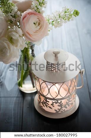Home Festive Wedding Decor Exquisite Bouquet Stock Photo Edit Now