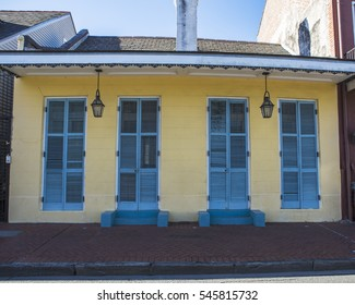 A home in the Frensch Quarter of New Orleans in Louisiana.