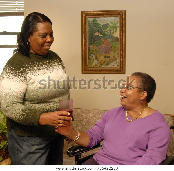 Home Health Aide >> Home Health Care Aide On Our Stock Photo Edit Now 735422233