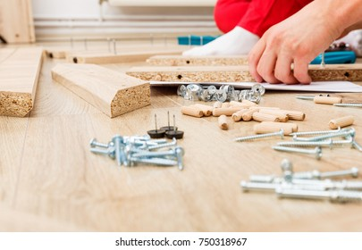 Home improvement, do it yourself activity in new home