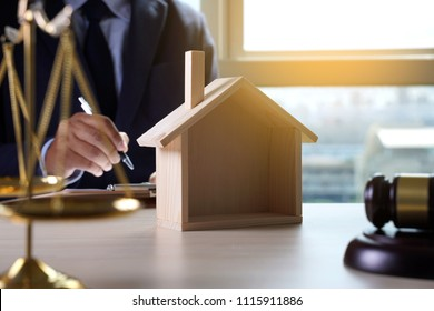 home insurance, Law and justice concept