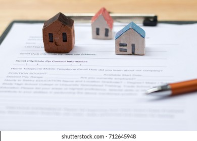 Home insurance.Insurance concept