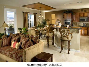 Home Interior Dinning Room Kitchen Design