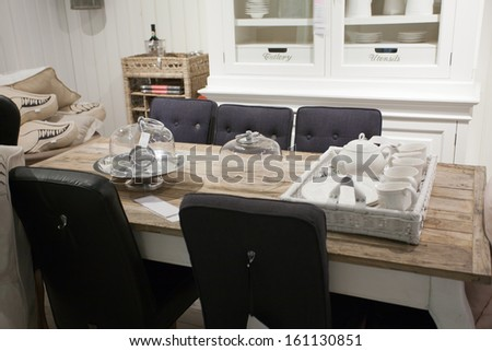 Home Interior Dutch Design Living Room Stock Photo Edit Now
