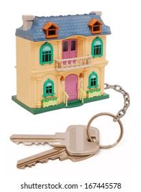 Home keys isolated on white background