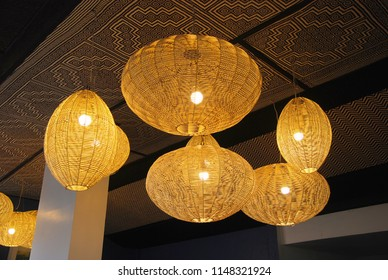 Home Lighting and Bamboo Lamp
