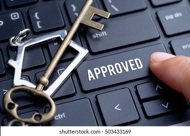 Home loan approval concept