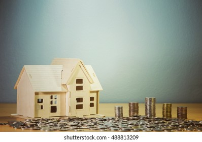 Home loan concept.
