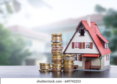 Home loan real estate for mortagage concept.