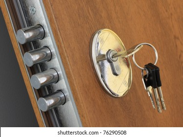 Home lock and key