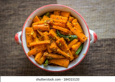 Home Made Carrot Pickle