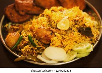 Home made Chicken Biryani, Sunday 30 Dec, 2018.