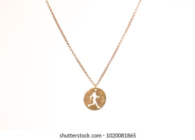 home made gold and silver jewellery - neck chain