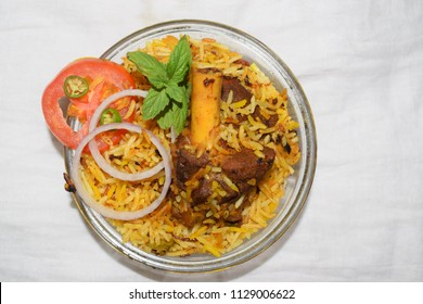 home made mutton biriyani