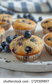 home made sweet blueberry muffins