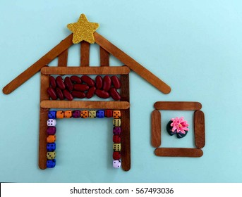 Wooden Stick House Images Stock Photos Vectors Shutterstock
