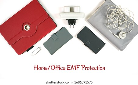 Home office EMF protection products that according to earthing research reduces inflammation and burden on the immune system from electromagnetic frequencies. Device sleeves, earthing mats, plug-ins.