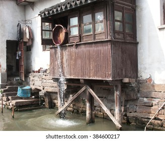 Home on the Grand Canal in China