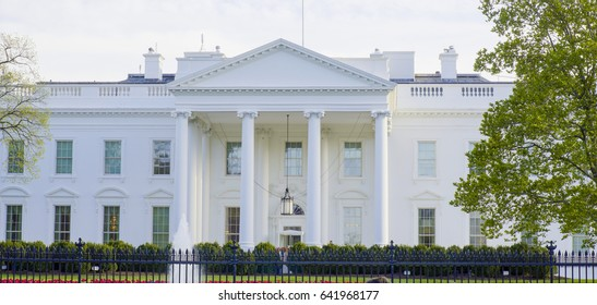 Home of the President - The White House in Washington DC
