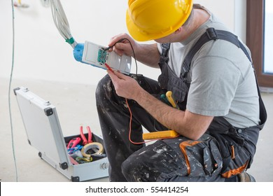 home renovation, electrical installation