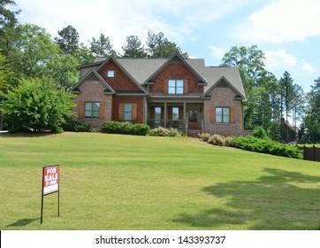 Home for sale at Georgia, USA.
