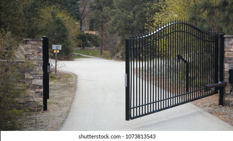 Home security gates