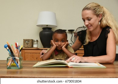 home study support for very young boy