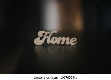 Home, subtitle, minimal