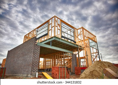 Home under construction