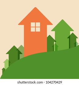 Home Value, House Values and Prices Up