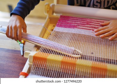 Home weaving machine