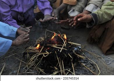 homeless warming