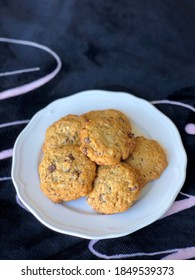 Homemade Banana Chocolate Chip Cookies