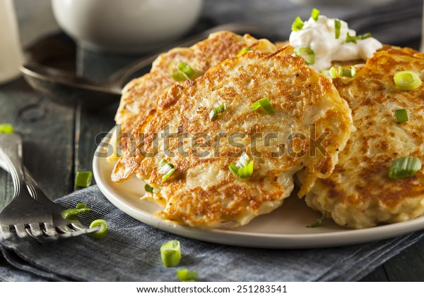 Homemade Boxty Irish Potato Pancakes for Breakfast