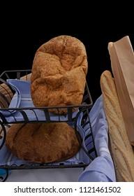 Homemade bread at a local Sunday market